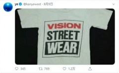 KANYE WEST巧出竞选周边,灵感源自